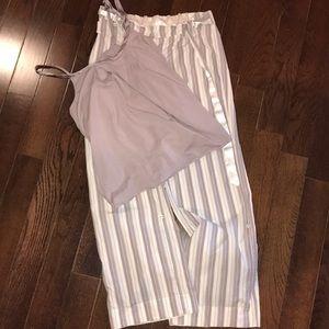 Victoria's Secret angel pajama set
